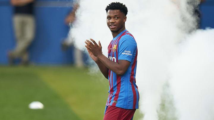 Ansu Fati is back in training
