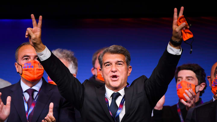 Joan Laporta ist zum zweiten Mal Barça-Präsident