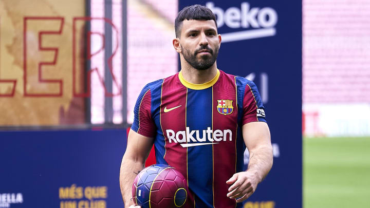 Sergio Aguero is committed to Barcelona