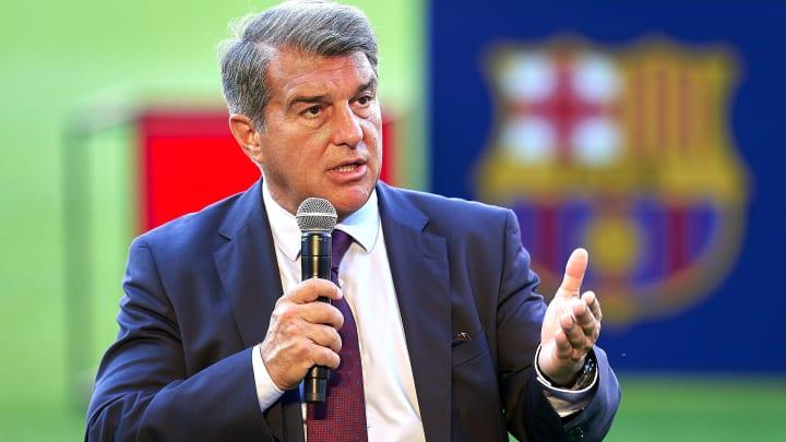 Joan Laporta président du FC Barcelone