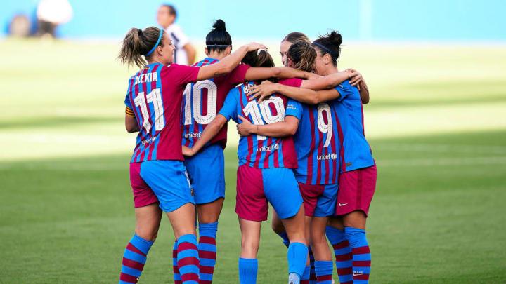 Barcelona futebol feminino