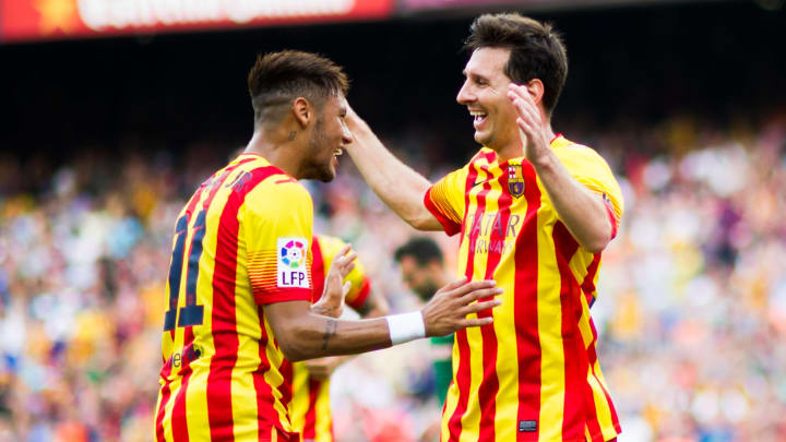 Neymar Santos Jr, Lionel Messi