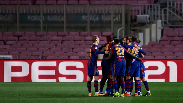 Lionel Messi scored a free kick, obviously
