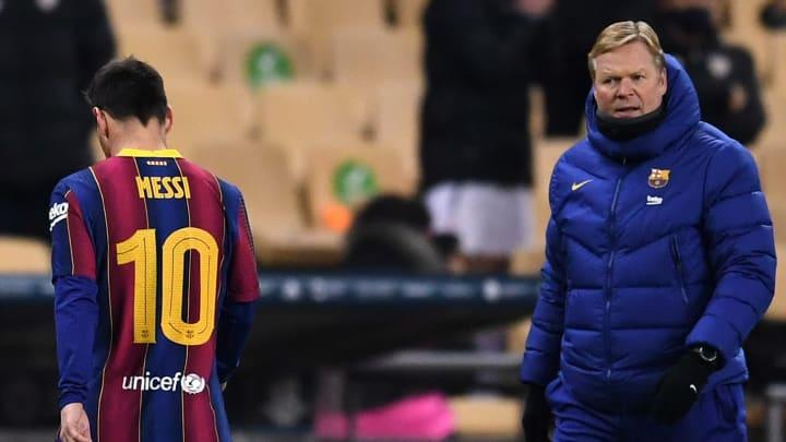 Messi é um dos desejos do treinador do Barcelona. Será que o craque fica?