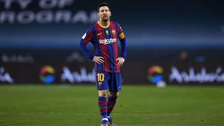Lionel Messi ne s'est jamais montré décisif lors de cette finale de Supercoupe
