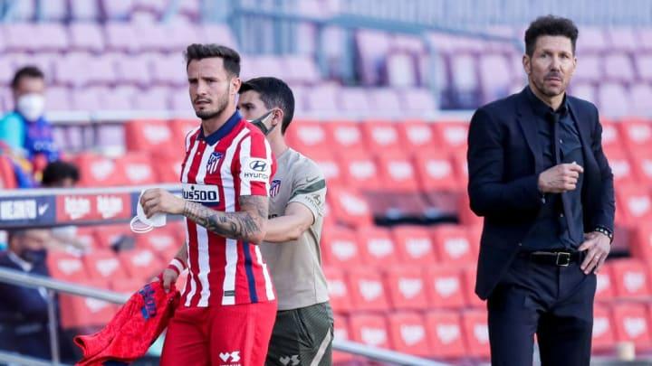 Diego Pablo Simeone, Saul Niguez