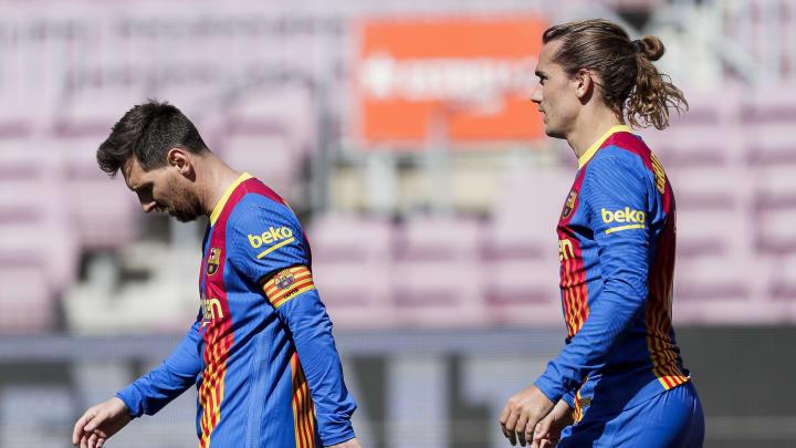 Antoine Griezmann könnte den Verbleib von Lionel Messi erwirtschaften
