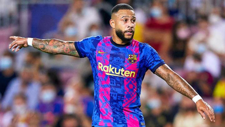 Memphis Depay Barcelona  LaLiga