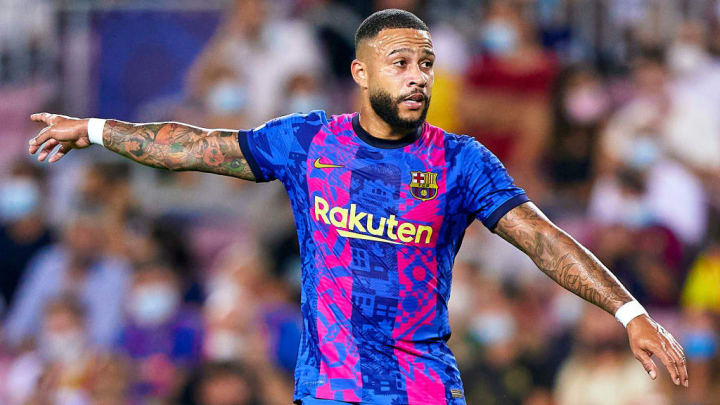 Memphis Depay LaLiga Barcelona