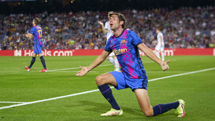 Sergi Roberto broke into tears after being booed by Barca fans