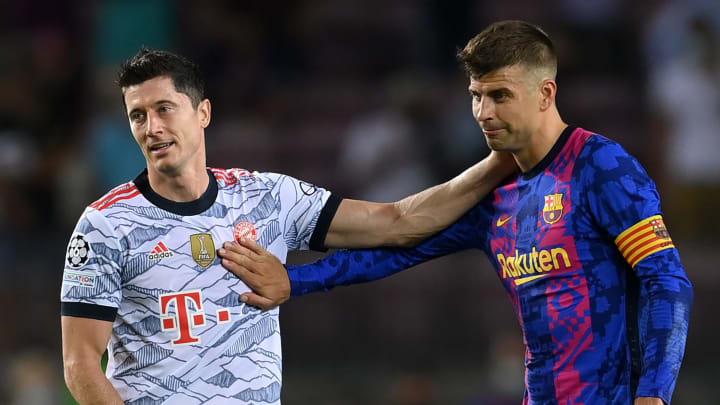 Lewy und Bayern waren eine Nummer zu groß für Piqué und Barca
