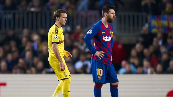 Mario Gotze reveals his dream is to play alongside Lionel Messi at Barcelona
