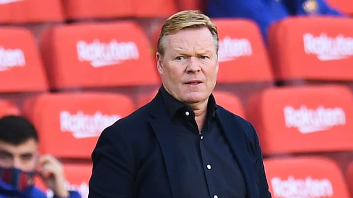 Koeman is less than pleased with Carlos Tusquets' comments