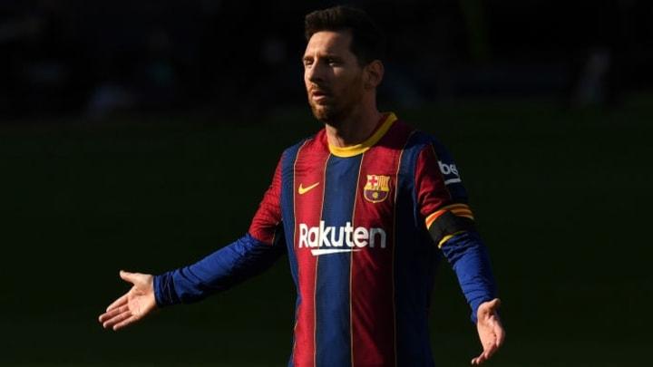 Not always cheery, Messi