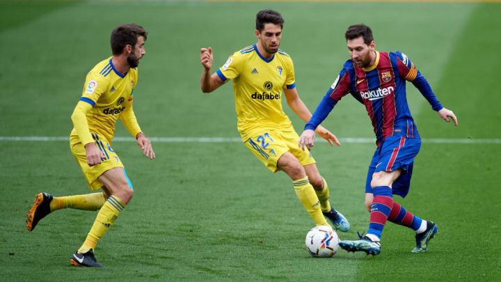 Ruben Sobrino, Lionel Messi