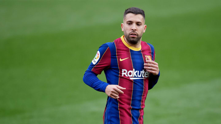 Alba was understandably left disappointed by Barca's 1-1 draw with Cadiz