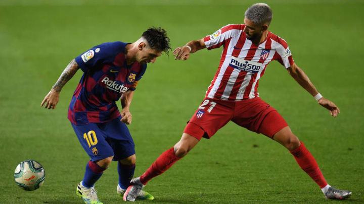 Lionel Messi, Yannick Carrasco