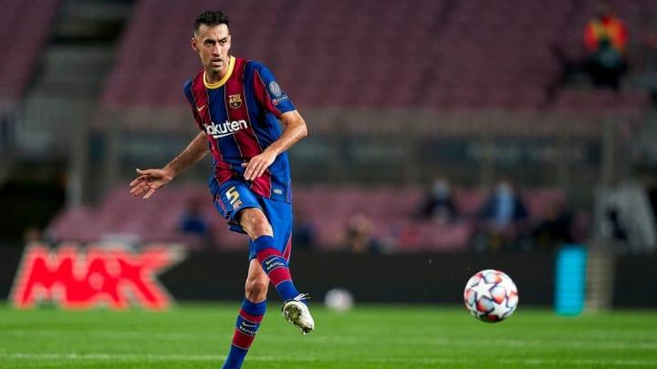 Aufgrund einer Außenbandverletzung wird Sergio Busquets dem FC Barcelona vorerst fehlen