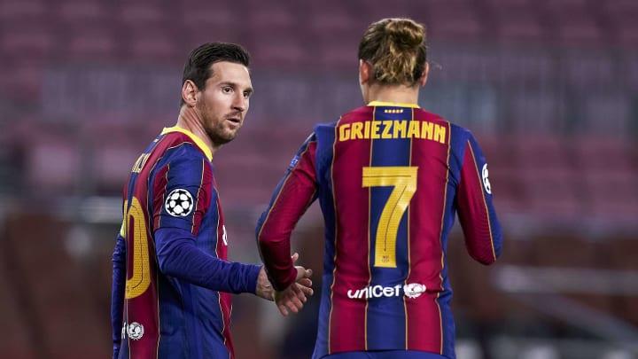 La relation entre Lionel Messi et Antoine Griezmann pose encore problème au sein du FC Barcelone.
