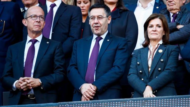 Amaia Gorostiza Telleria, Josep Maria Bartomeu
