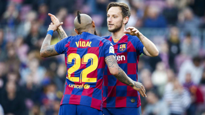 Ivan Rakitic discussed Arturo Vidal's role at Barcelona