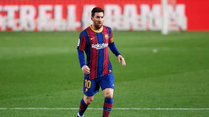 Messi scored a brace against Elche