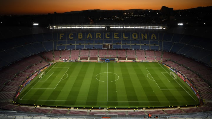 Barcelona's presidentail campaign has been postponed