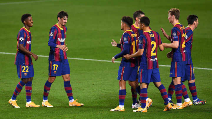 Barcelona put Ferencvaros to the sword last time out