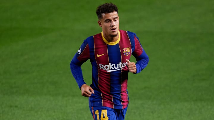 Philippe Coutinho Sidelined for 3 Weeks With Hamstring Injury