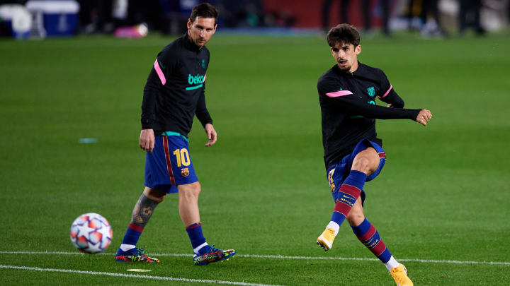 Lionel Messi, Francisco Trincao