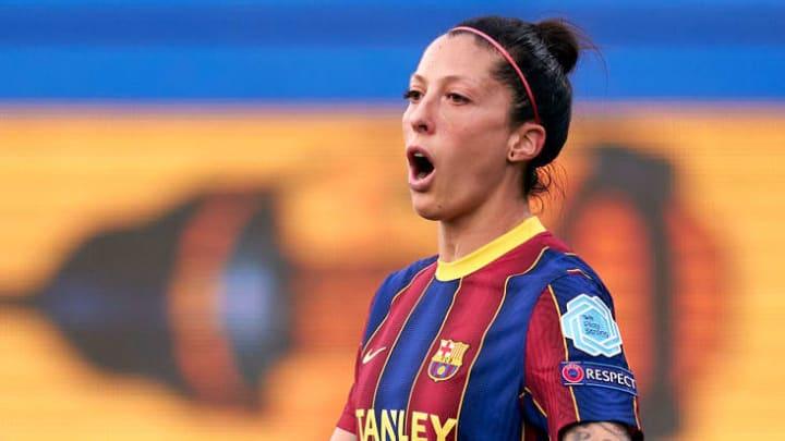 jenni hermoso barcelona champions feminina