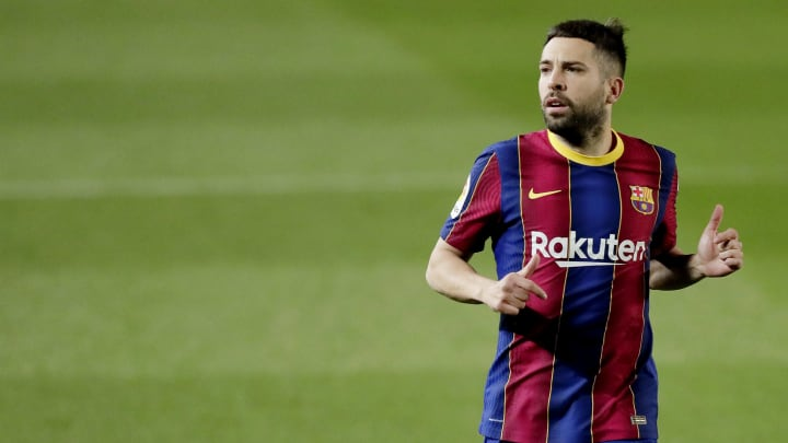 Alba has been linked with a move away from Camp Nou