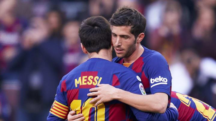 Sergi Roberto, Lionel Messi