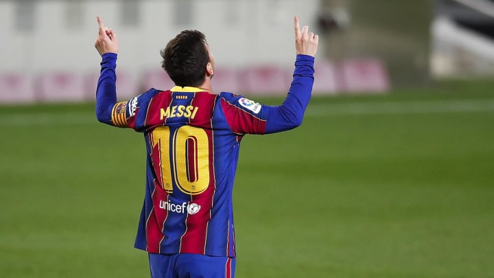 Messi scored twice on Thursday night