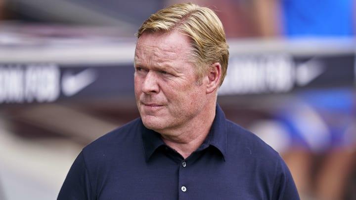 Ronald Koeman, l'entraîneur du Barça, se retrouve dans la tourmente.
