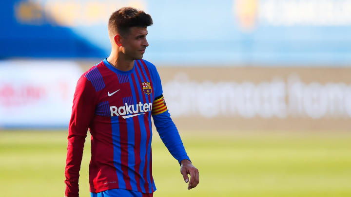 Gerard Pique is one of the players believed to have a salary regarded as 'high' by Barcelona