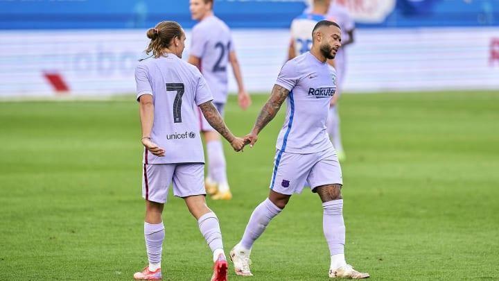 Le duo Antoine Griezmann-Memphis Depay a montré une belle entente dans les premiers matchs amicaux du Barça.