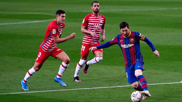 Messi Granada Barcelona LaLiga