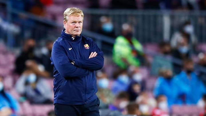 It was another frustrating night for Koeman