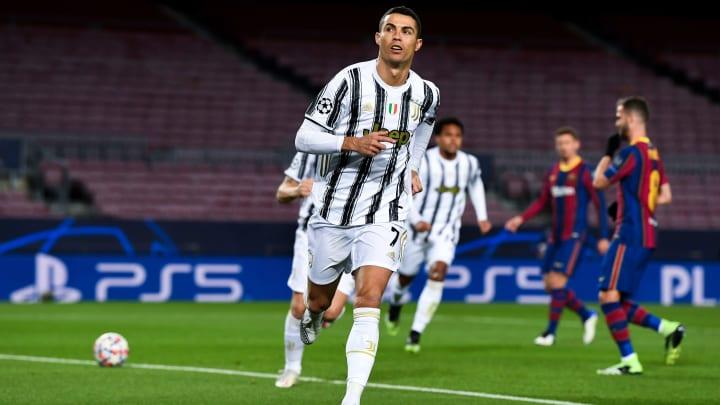 Cristiano Ronaldo mag es, im Camp Nou zu treffen