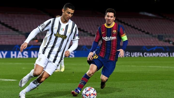 Ronaldo und Messi werden im kommenden Jahr bei Manchester United und Paris Saint-Germain auflaufen