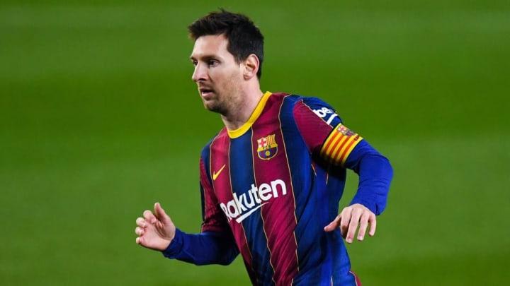 Noch hat scheinbar niemand mit Lionel Messi über seine Zukunft gesprochen