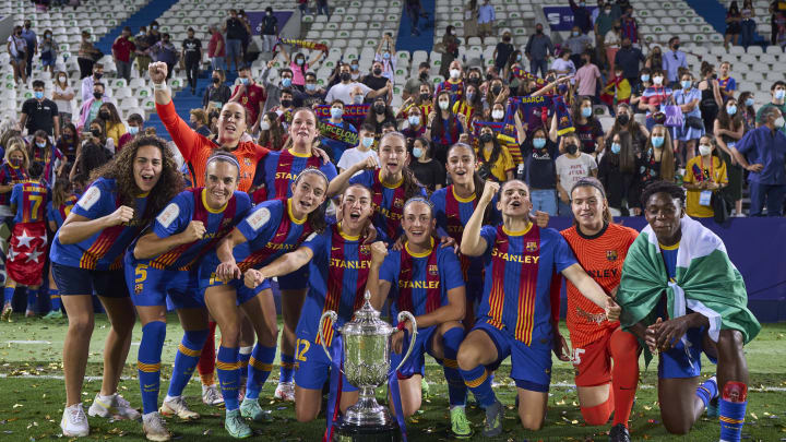 El Barcelona ha conquistado su octava Copa de la Reina
