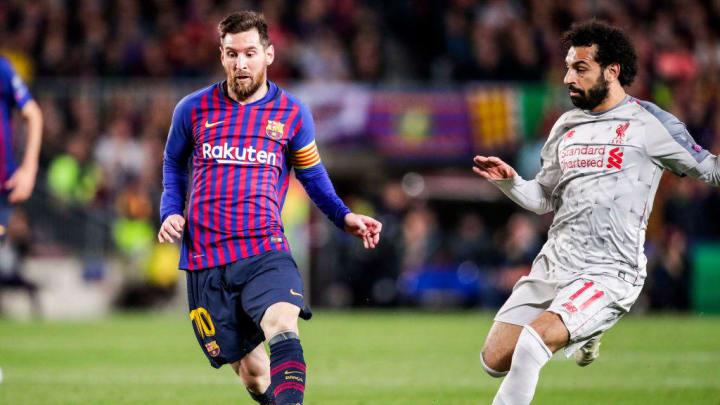 Salah et Messi font partie de la liste de choix du PSG.