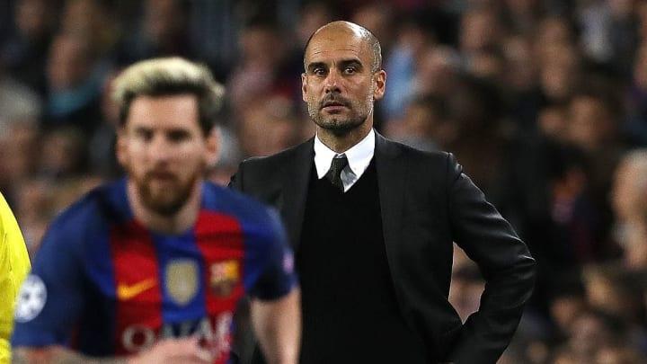 Pep Guardiola, Lionel Messi