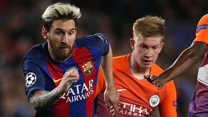 Lionel Messi, Kevin de Bruyne