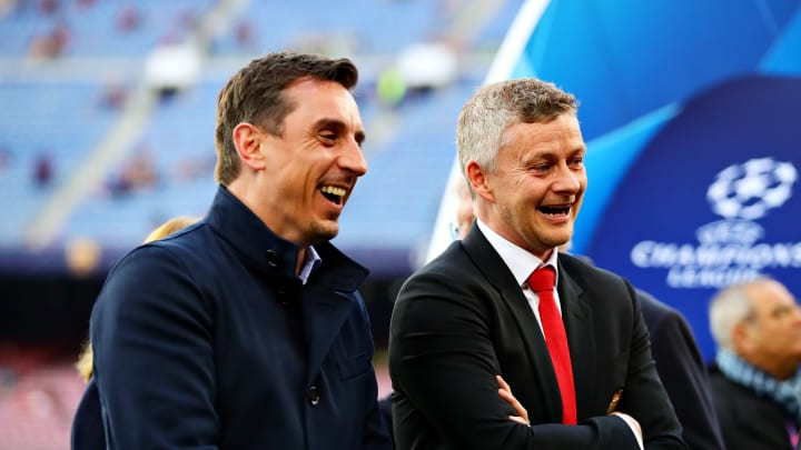 """Manchester United Boss Ole Gunnar Solskjaer """"Not Happy"""" with Gary Neville's Anti-Glazer Comments"""