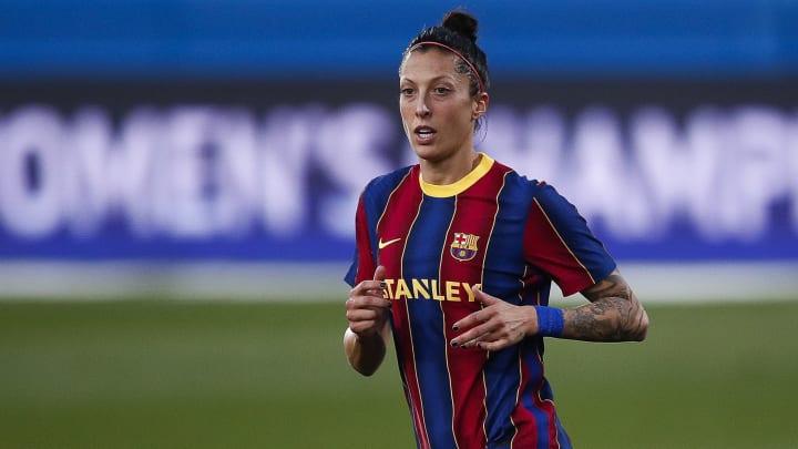 Jenni Hermoso é uma das referências do Barcelona