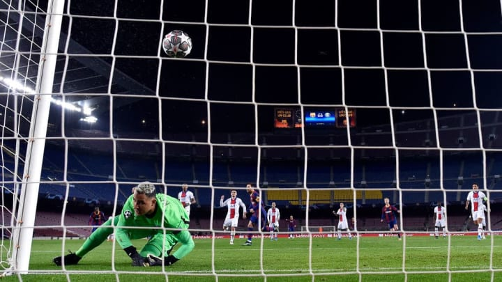 Lionel Messi, Keylor Navas