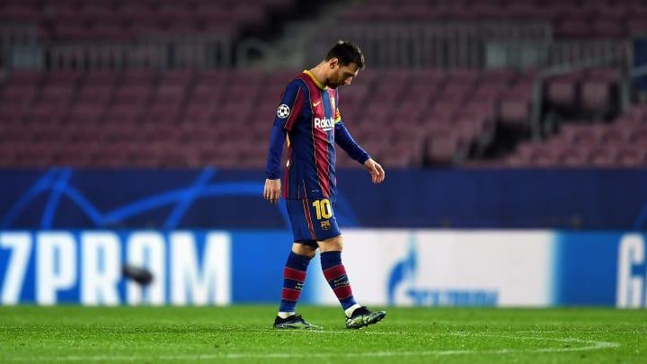 'Goleada do PSG foi a última partida de Messi pelo Barça no Camp Nou na Champions League', afirmou Rivaldo.